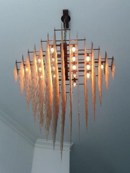 Chandeliers by Prestige Chandelier   Custom Designs seen at Private Residence - Custom chandelier  chains chandelier design