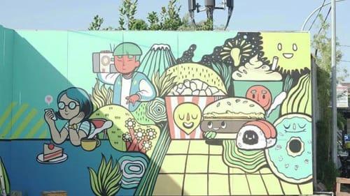 Hujan Buatan - Murals and Art