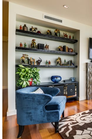 Furniture by Christopher Original at Private Residence, Portland - Floating Shelves