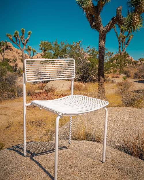 Chairs by Bend Goods seen at Private Residence, Palm Springs - The Rachel Chair