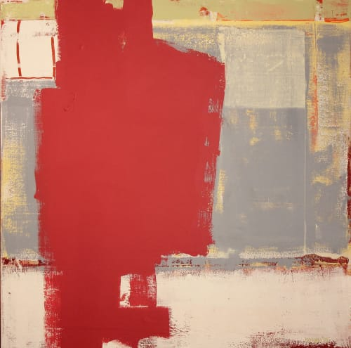Paintings by Joey Korom seen at Private Residence, Chicago, Chicago - The Red Shape