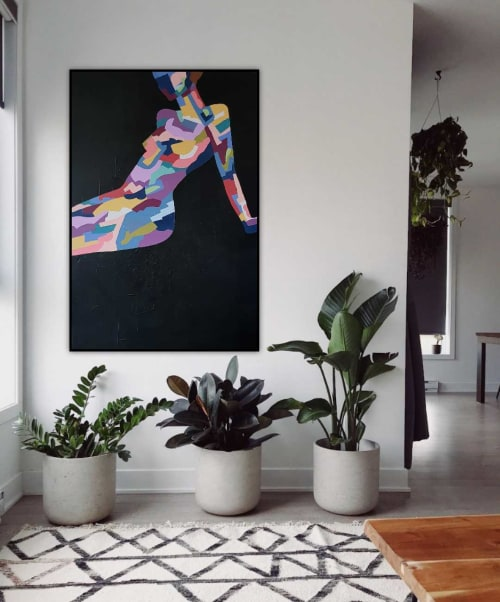 Paintings by Amy Kim seen at Private Residence, Melbourne - Restless