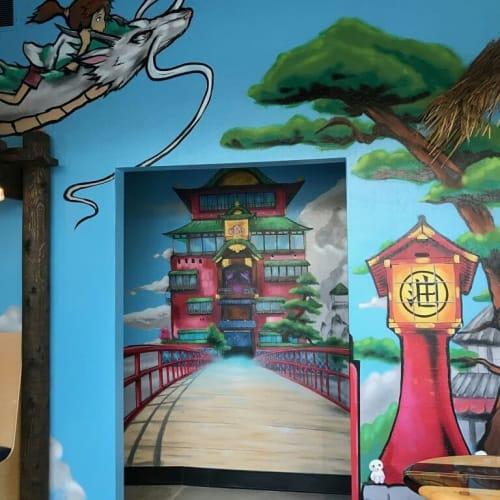 Murals by Lopanb4000 seen at Beach Hut Deli (NW Reno), Reno - Beach Hut Deli Reno Mural