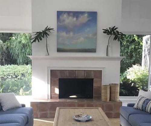 """Paintings by Carrie Megan seen at Private Residence - """"Skylight"""""""
