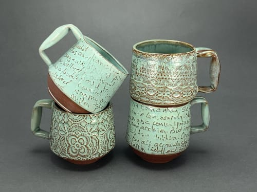 Cups by Mariana Ceramics seen at Gainesville, Gainesville - Memory Mugs