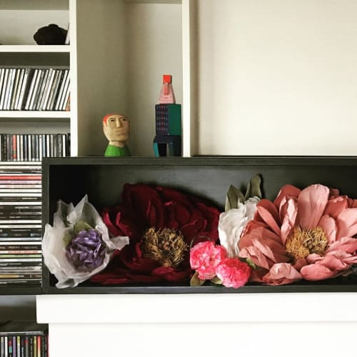 Art & Wall Decor by Marina Lommerse seen at Private Residence, Victoria - Peonies