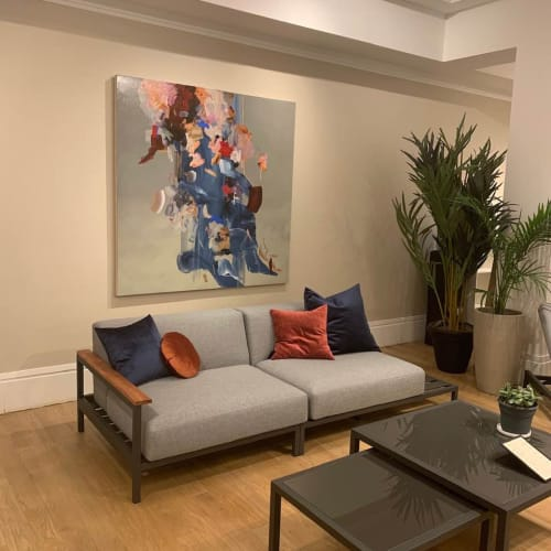 Interior Design by Janna Watson seen at New York, New York - 'Secrets Falling Out' :: Painting by Janna Watson