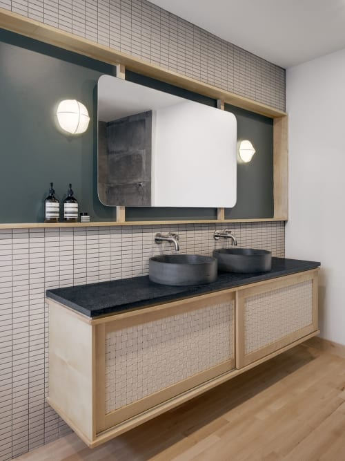 Interior Design by Atelier FILZ seen at Private Residence, Québec, Quebec City - Des Franciscains