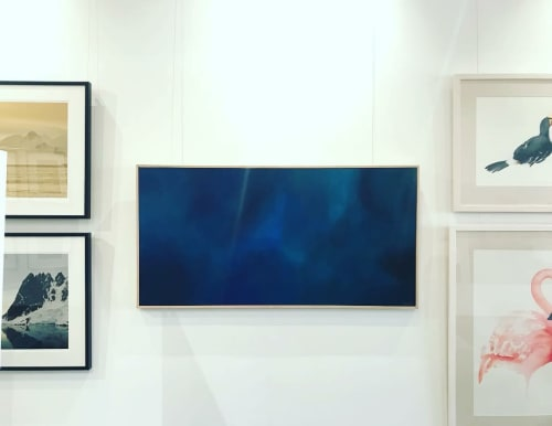 Paintings by Jo Carroll - Artist seen at Melbourne, Melbourne - Big Blue