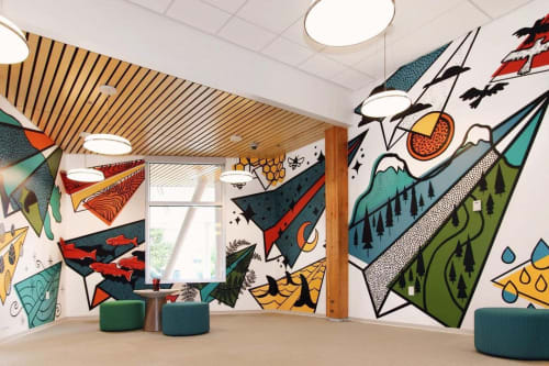 Phil Phil Studio - Murals and Art