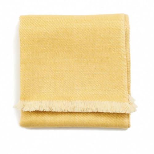 Dandelion Merino Throw   Linens & Bedding by Studio Variously