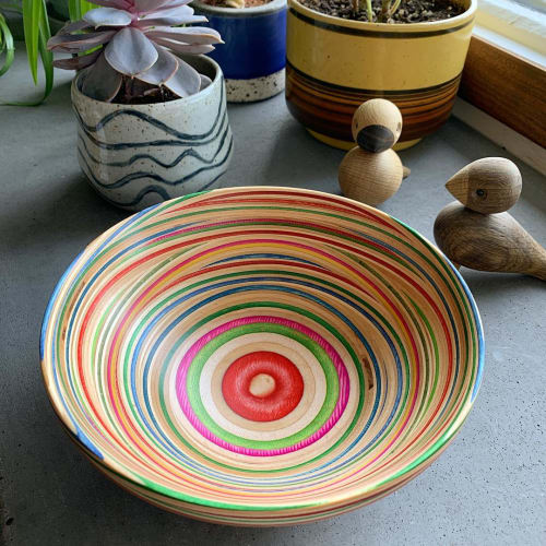 Tableware by AdrianMartinus Design seen at Private Residence - Calgary, AB, Calgary - Horizontal Designed Bowls