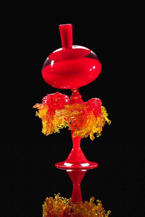 Sculptures by Kazuki Takizawa / KT Glassworks seen at KT Glassworks, Los Angeles - Container Series