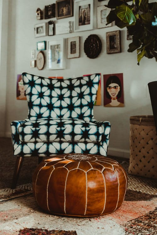 Chairs by Jonathan Louis seen at Terra LaRock's Home - Mike Accent Chair