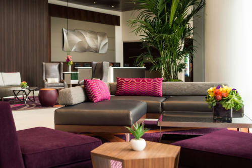 Interior Design by Degen & Degen architecture and interior design seen at Residence Inn by Marriott Los Angeles L.A. LIVE, Los Angeles - LA Live