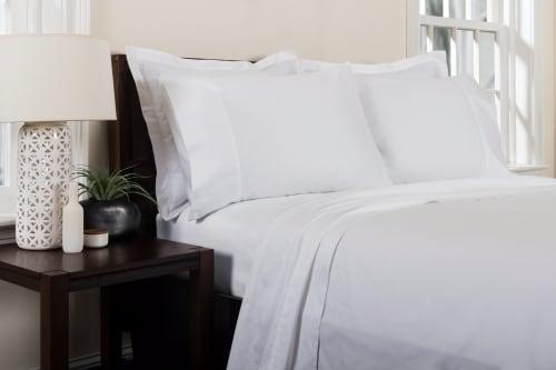 Linens & Bedding by ELEGANT STRAND seen at Private Residence - Boca Raton, FL, Boca Raton - St. Moritz Sheet Set