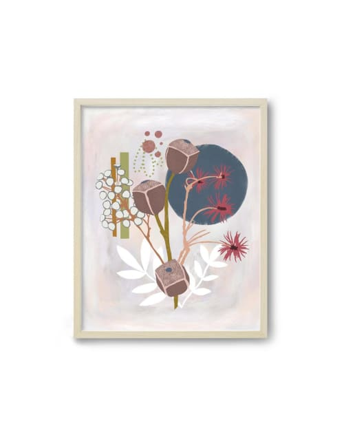 Paintings by Birdsong Prints - Abstract Botanical Art Print