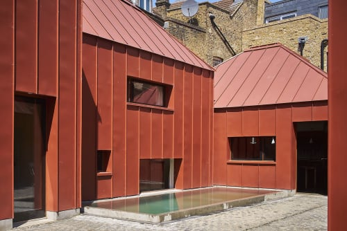 Architecture by Henning Stummel Architects seen at Private Residence, London - Tin House