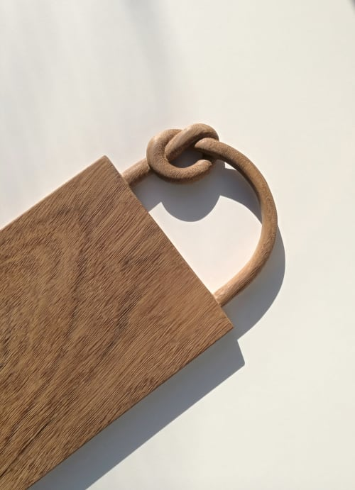 Tableware by woodappetit seen at Private Residence, Berlin - Board with knot