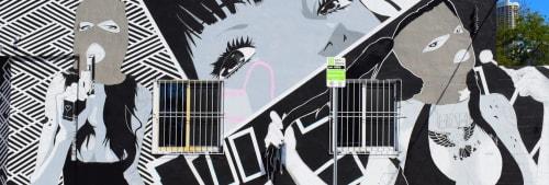 Stefan Smith (Semzart) - Street Murals and Murals