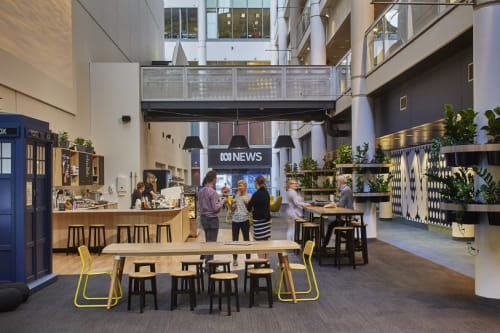 Interior Design by HOT BLACK seen at Australian Broadcasting Corporation, Ultimo - Interior Design