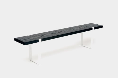 Benches & Ottomans by ARTLESS seen at 240 Tremont St, Boston - One Bench
