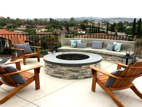 DC Custom Concrete - Tables and Chairs