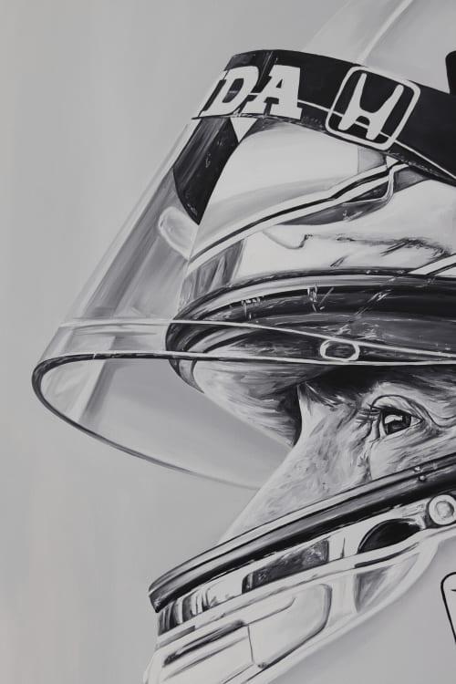 Ayrton Senna   Paintings by Ricardo Rodriguez Cosme