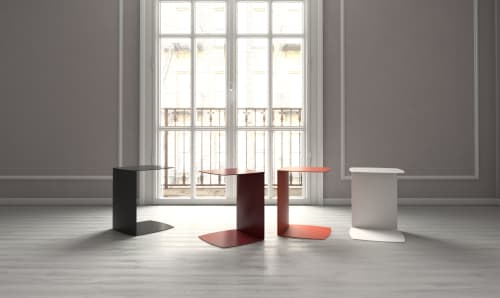 Furniture by Civil seen at Private Residence, New York - Strand side table