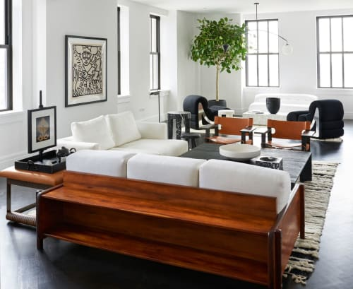 Interior Design by Timothy Godbold Design seen at Private Residence, New York - 100 Barclay