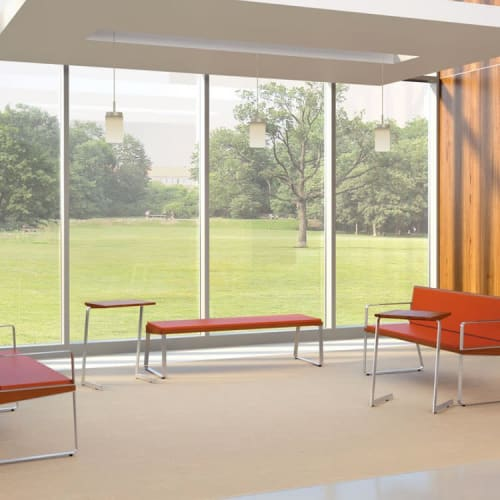 Benches & Ottomans by Peter Pepper Products seen at Compton, Compton - Arrow Bench