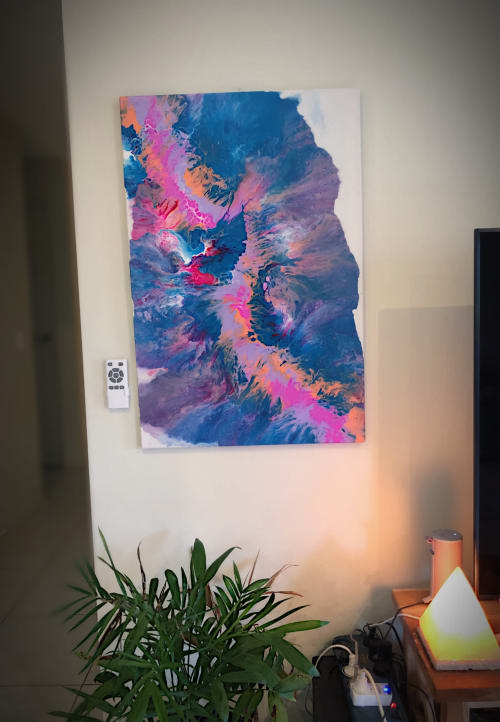 Paintings by Resin_at_lucys seen at Brisbane, Brisbane - Couch Potato
