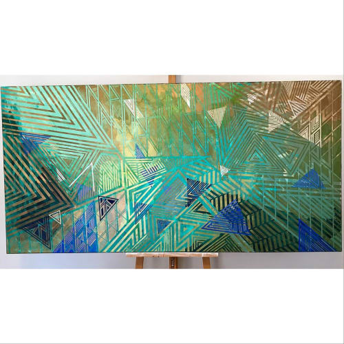 Paintings by Rae Heller seen at Private Residence, Waterford - For Ali