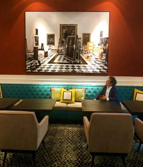 Photography by Massimo Listri seen at Hotel Vilòn, Roma - La Sala della Controriforma