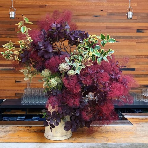 Plants & Flowers by Wallflower Design seen at Bar Agricole, San Francisco - Floral Design