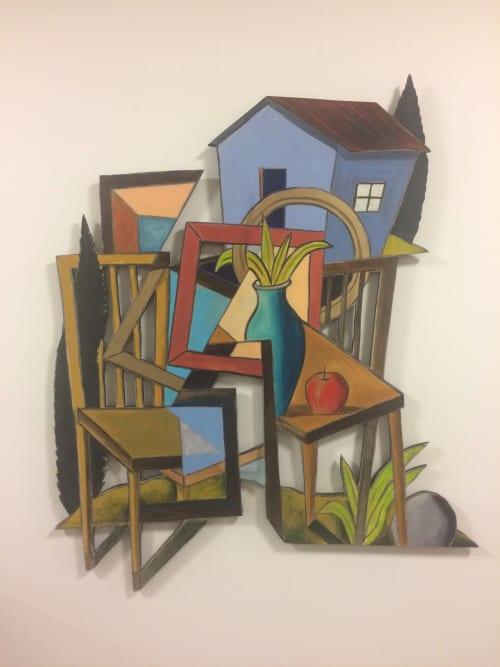 Paintings by Kelly Detweiler seen at San Francisco, San Francisco - cut out