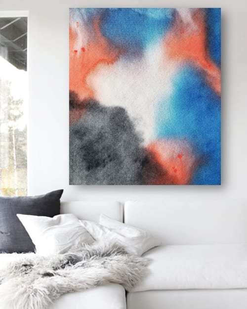 Paintings by Shelly Floyd seen at Private Residence, Austin - Airy