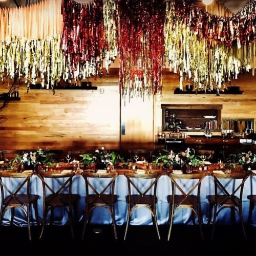 Floral Arrangements by Colibri seen at Irving Street Kitchen, Portland - Floral Arrangements