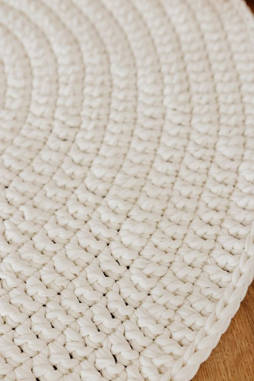 Rugs by Chasha Home seen at Private Residence, Vallejo - Round Rug