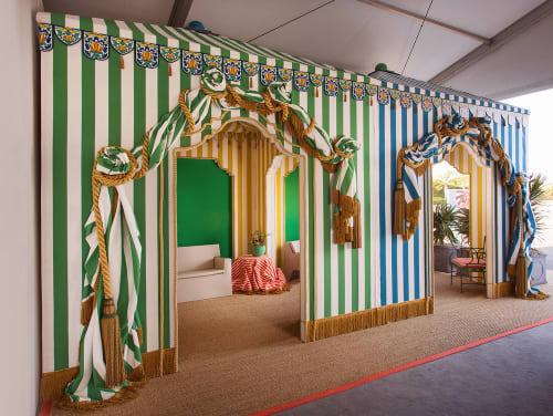 Interior Design by Josh Cooperman - Convo By Design seen at Barker Hangar, Santa Monica - Convo By Design - Green Room Project - WestEdge Design Fair 2017