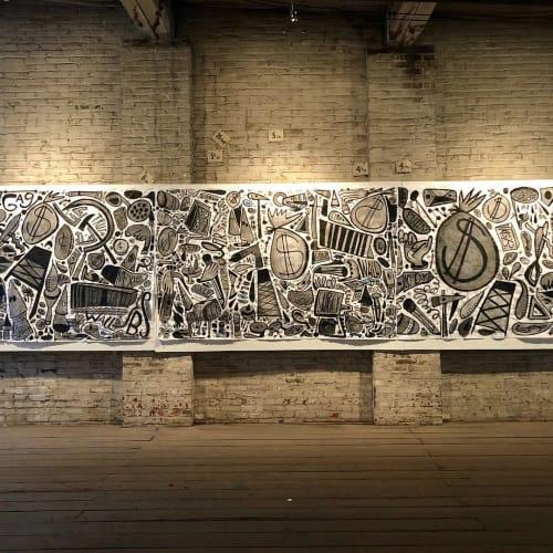 Katie Merz - Murals and Street Murals