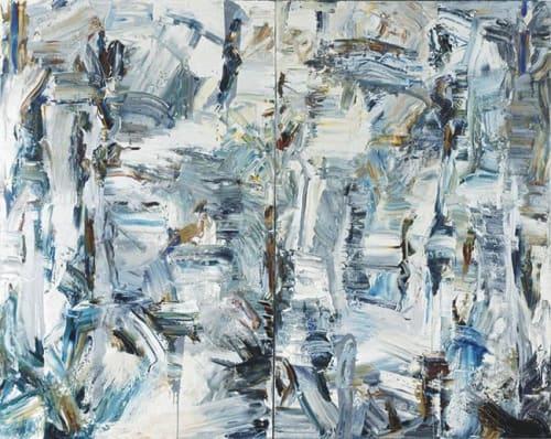 Paintings by John DiPaolo seen at San Jose Museum of Art, San Jose - Big Abstract