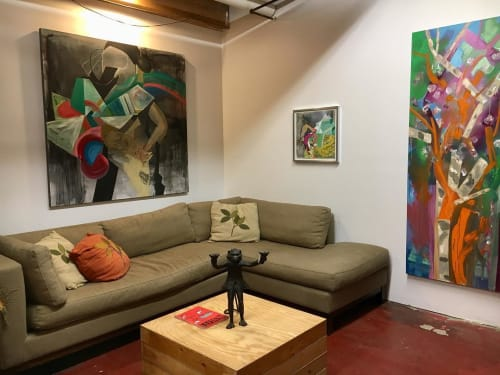Paintings by Pamela Staker seen at Private Residence, Chicago - Contemporary Painting