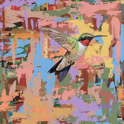 Paintings by David Palmer Studio seen at Pasadena, Pasadena - Hummingbird #31
