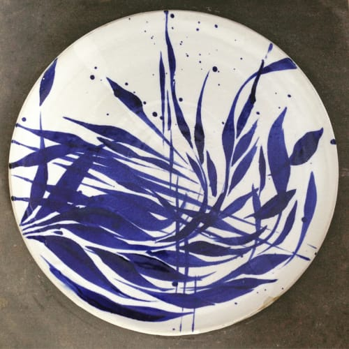 Ceramic Plates by Ashley Lin Pottery seen at Kimski, Chicago - Ceramic Plate