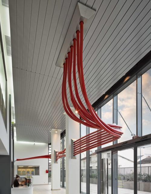 Architecture by Studio Chris Fox seen at Paris, Paris - Convergence