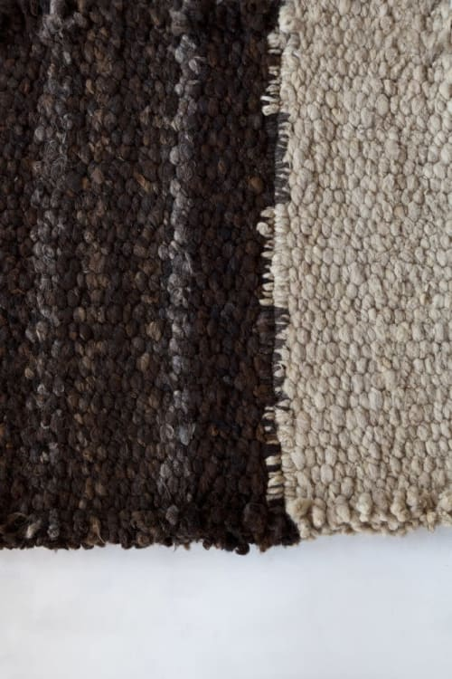 Rugs by AWANAY seen at Private Residence, Buenos Aires Province - SENDERO CHOCOLATE RUG