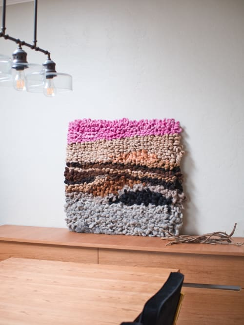 Wall Hangings by Yunan Ma Fiber Art seen at Private Residence, San Francisco - The Show 9, 2020