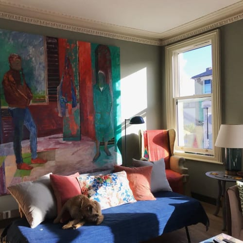 Paintings by Tristan Barlow seen at Private Residence, London - Painting