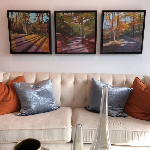 Paintings by Lynn Goldstein seen at Private Residence, Washington - Landscape Paintings